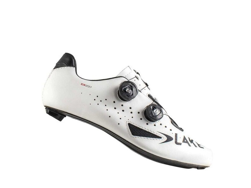 LAKE CX237 CF Carbon Road Shoe White click to zoom image