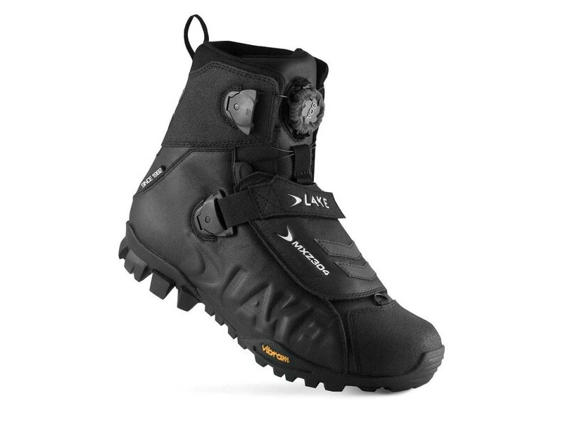 LAKE MXZ304 Winter Boot Black click to zoom image