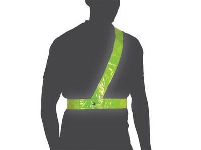 Oxford Cycle Bright Belt Reflective Shoulder Strap Medium