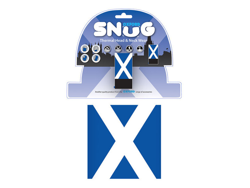 Oxford Snug - Scottish Flag click to zoom image