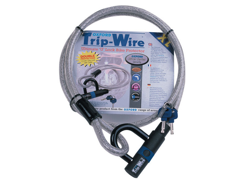 Oxford Silver Trip Wire XL 15mm x 1.6mtr click to zoom image