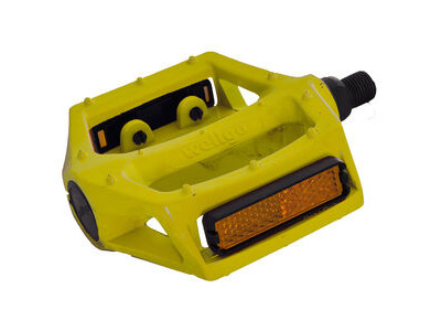 "Oxford Alloy Wellgo Platform 1/2"" - Yellow"