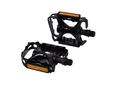 Oxford Wellgo MTB Pedals Alloy 9/16' - Black