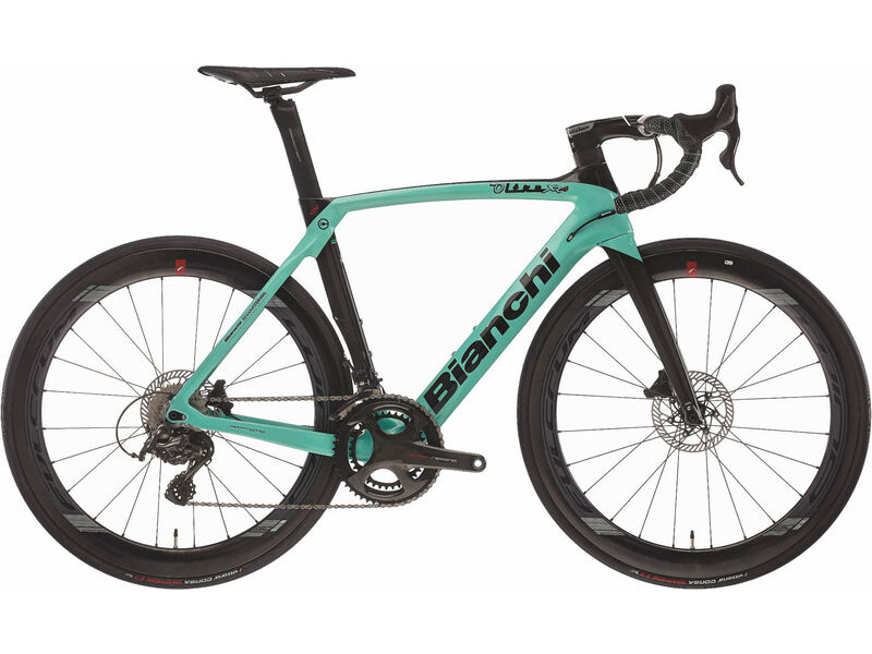 Bianchi Oltre XR4 CV Disc - Super Record click to zoom image