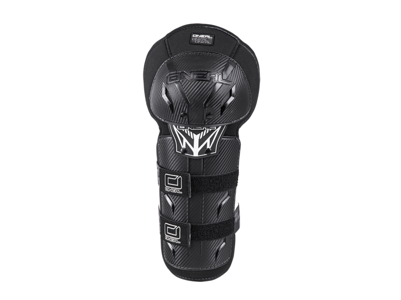 ONeal PRO III Carbon Look Knee Pads Black click to zoom image