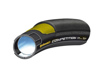 "Continental Competition Vectran 28"" x 25mm Black Chili Tubular"
