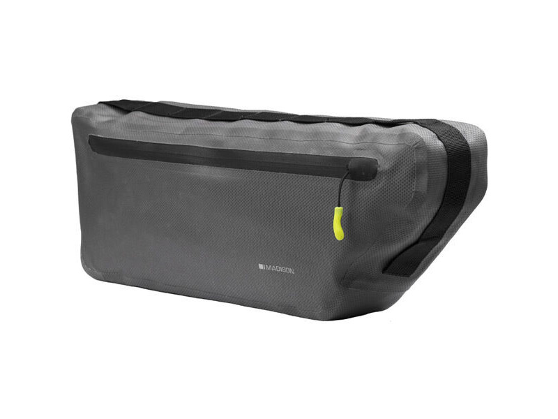 Madison Caribou waterproof frame bag, welded seams and waterproof zips, large click to zoom image